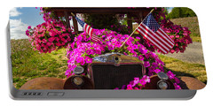 Fourth Of July Color Portable Battery Charger