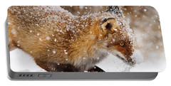 Fox First Snow Portable Battery Charger