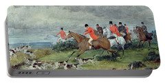 Fox Hunting In Surrey Portable Battery Charger