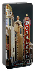 Fox Theater . Oakland California Portable Battery Charger