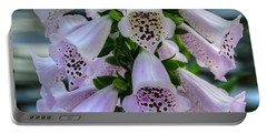 Foxglove At Waters Edge Portable Battery Charger