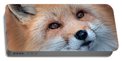 Portable Battery Charger featuring the photograph Foxy Lady by Bianca Nadeau
