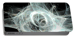 Fractal 10 Poster Portable Battery Charger