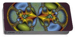 Fractal Art Egg Portable Battery Charger