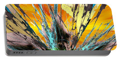 Fractured Sunset Portable Battery Charger