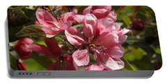 Fragrant Crab Apple Blossoms Portable Battery Charger