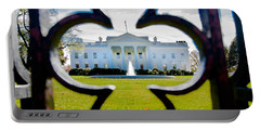 Framed Whitehouse Portable Battery Charger by Greg Fortier