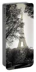 The Eiffel Tower Paris France Portable Battery Charger