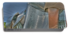 Frank Gehry At Case Western U Portable Battery Charger