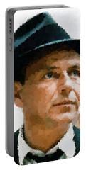 Frank Sinatra Portrait Portable Battery Charger