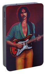 Frank Zappa Portable Battery Charger by Paul Meijering