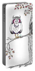 Frankenowl Tree Portable Battery Charger
