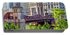 Chicago Franklin Street Bridge Portable Battery Charger