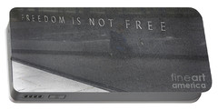 Freedom Is Not Free Portable Battery Charger by Steven Ralser