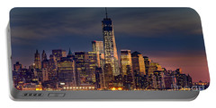 Freedom Tower Construction End Of 2013 Portable Battery Charger