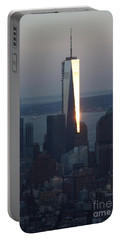 Freedom Tower Portable Battery Charger by John Telfer