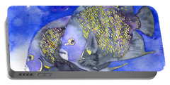 French Angelfish Portable Battery Charger
