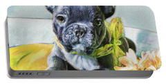 French Bulldog Puppy Portable Battery Charger