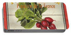 French Vegetable Sign 1 Portable Battery Charger