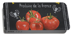 French Vegetables 1 Portable Battery Charger