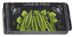French Vegetables 2 Portable Battery Charger
