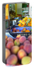 Fresh Fruit Portable Battery Charger by Vicki Spindler