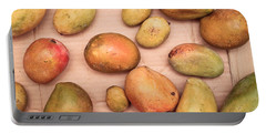 Fresh Mangos Portable Battery Charger by Tom Gowanlock