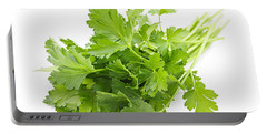 Fresh Parsley Portable Battery Charger