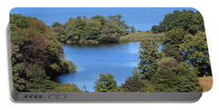 Fresh Pond At Caumsett Portable Battery Charger