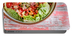 Fresh Salad Portable Battery Charger by Tom Gowanlock