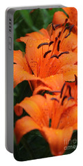 Freshly Showered Tiger Lilys Portable Battery Charger