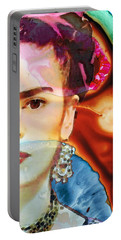 Frida Kahlo Art - Seeing Color Portable Battery Charger