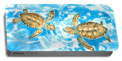 Friends Baby Sea Turtles Portable Battery Charger