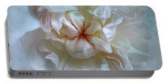 Friendship Is The Breathing Rose Portable Battery Charger by Louise Kumpf