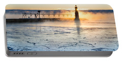 Frigid Sunrise Fog  Portable Battery Charger