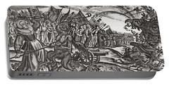 From A 17th Century German Satirical Pamphlet On Bad Women.  An Army Of Women Appear Portable Battery Charger