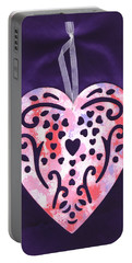 Portable Battery Charger featuring the photograph From The Beautiful Heart Of A Child by Connie Fox