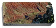 Portable Battery Charger featuring the photograph From Yaki Point 5 Grand Canyon by Bob and Nadine Johnston