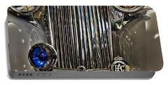 Front Detail 1947 Jaguar Portable Battery Charger
