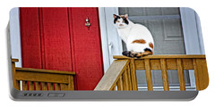 Front Porch Cat Portable Battery Charger
