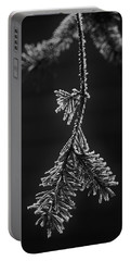 Frosted Pine Branch Portable Battery Charger
