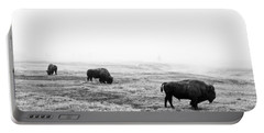 Frosty Bison Portable Battery Charger
