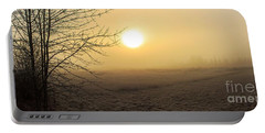 Frosty Sunrise Portable Battery Charger