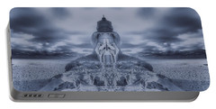 Frozen Tundra Digital Art Portable Battery Chargers