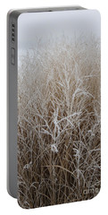 Frozen Grass Portable Battery Charger