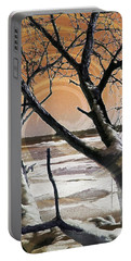 Portable Battery Charger featuring the photograph Frozen In Time 2 by Shawna Rowe