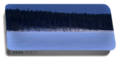 Frozen Lake, Russia Portable Battery Charger