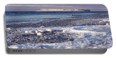 Frozen Shore Portable Battery Charger