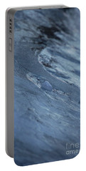 Portable Battery Charger featuring the photograph Frozen Wave by First Star Art