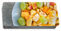 Fruit Salad Portable Battery Charger by Tom Gowanlock